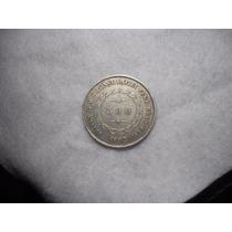 Moeda 500 Reis Prata Imperio 1852 25 Mm