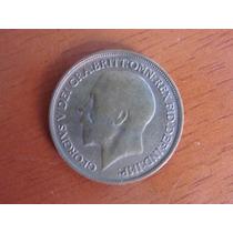 Moeda - Inglaterra - One Penny - Bronze - 1913 - Mbc