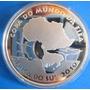 Copa Africa-moeda Fifa-2010-futebol-prata-estojo E Certif.