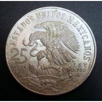 México - Moeda De Prata Olimpíadas 22,5gr. Original 1968