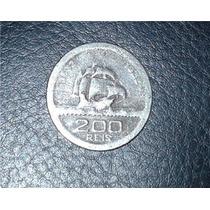 Moeda 200 Reis Comemorativa Iv Centenario