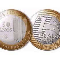 Saco Lacrado- Moeda De 1 Real - 2015 - 50 Anos Banco Central