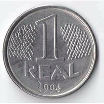 Moeda De 1 Real De 1994 Recolhida, Ano Difícil De Encontrar