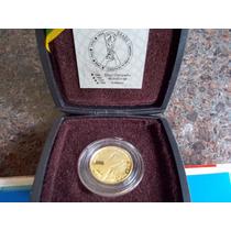 Futebol-brasil Tetra-moeda Ouro,no Estojo Perfeita
