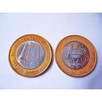Moeda Comemorativa Banco Central Do Brasil Rara