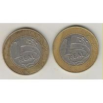 A142 - 1 Um Real 1998 E 1999 Moedas Escassas O Lote R$ 12,00