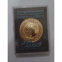 Medalha 40 Aniversario Ungcc Godzilla Japão - Raridade