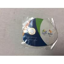 Moeda De 1 Real Futebol Olimpíada Rio 2016 Blister (cartela)