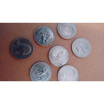 5 Moedas Quarter Dóllar Por R$ 28,00 Com Frete Grátis