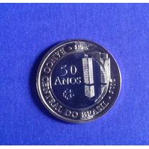 Moeda Comemorativa 50 Anos Do Banco Central