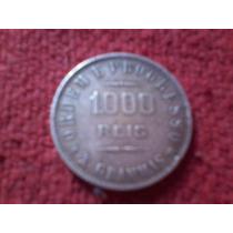 Moeda 1000 Réis - 1911 - 10 Gramas - Prata - Soberba