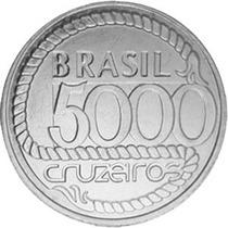 Brasil - 5000 Cruzeiros Bicentenário Da Morte De Tiradentes