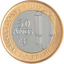 Lote Com 4 Moedas Comemorativas Banco Central 2015, F. Cunho