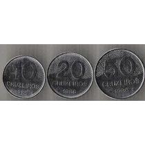 10 20 E 50 Centavos 1986 Escassas