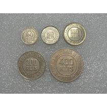 20, 50, 100, 200 E 400 Réis - Niquel