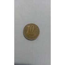 Moedas Raras De 5 E 10 Centavos Do Ano De 1999 E 2000
