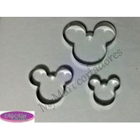 Kit Cortador Mickey - 3 Peças