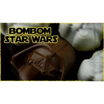 5 Formas De Acetato Para Chocolate Bombom Festa Star Wars