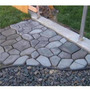 Forma Piso Jardim - Uso Concreto - Bordas Internas Usinadas
