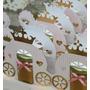 Caixinha Carruagem Potinho - Arquivo Silhouette