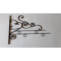 Mão Francesa, Ferro , Loja, Comercio, Fachada, Flores, Vasos