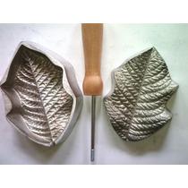 Frisador De Flor Em Alumínio - Bico De Papagaio