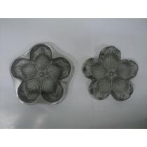 Frisador Para Flor Em Eva - Rosa Conjugada G