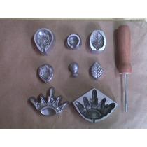 Frisador Em Alumínio Fundido - Kit Da Rosa Pequena