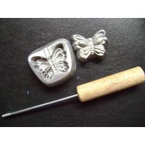 Frisador De Flores Eva Borboleta Pequena 6,5 X 6 Cm