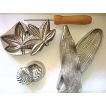 Frisador Em Aluminio . Kit 12 Peças Orquidea + Rosas