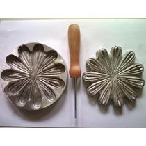 Frisador Para Eva Em Alumínio - Girassol Grande