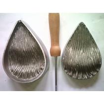 Frisador Para Eva Em Alumínio - Turquesa