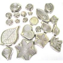 Kit Frisadores Em Aluminio Para Flores Em Eva Com Apostila