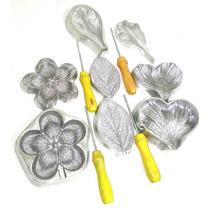 Kit Flores Eva Em Alumínio