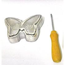 Kit Frisadores 5 Frisadores + Cortadores Eva Em Alumínio