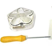 Kit Frisadores Eva 3 Frisadores Em Aluminio Com Apostila