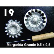 Frisador Modelagem De Flores Tecidos E Eva Margarida 19