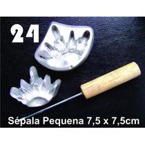 Frisador Modelagem De Flores Tecidos E Eva Sépala Pequena 24