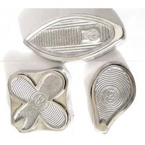 Frisadores Eva Com 3 Frisadores De Aluminio E Frete Gratis