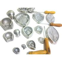 Kit Frisadores Eva Para Fazer Rosas Frisadores Aluminio