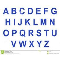 Moldes 26 Letras Do Alfabeto 5 Cm Altura
