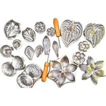Kit Completo Frisadores De Eva Faz Mais De 13 Tipos Flores