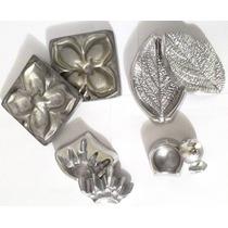 Kit Frisador De Flores 7 Peças Em Aluminio Com Frete Gratis