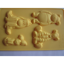 Molde De Siliconeturma Do Poof,mini Bolos,cake,chocolate,