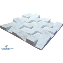 Forma De Silicone Pedra Gesso Revestimento Mosaico Invertido