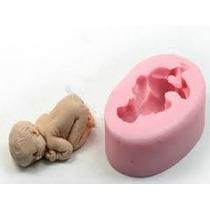 Molde Forma Silicone Bebê Para Lembrancinha Artesanato