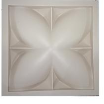 Forma Para Placa De Gesso Flor 3d - Mogi Das Cruzes-sp