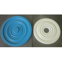 Forma Para Florão De Gesso (silicone)
