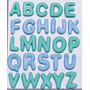 Molde De Silicone Alfabeto 2 Cm P/ Biscuit, Resina, Sabonete
