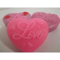 01 Molde De Silicone Para Sabonete Em 3d Coração